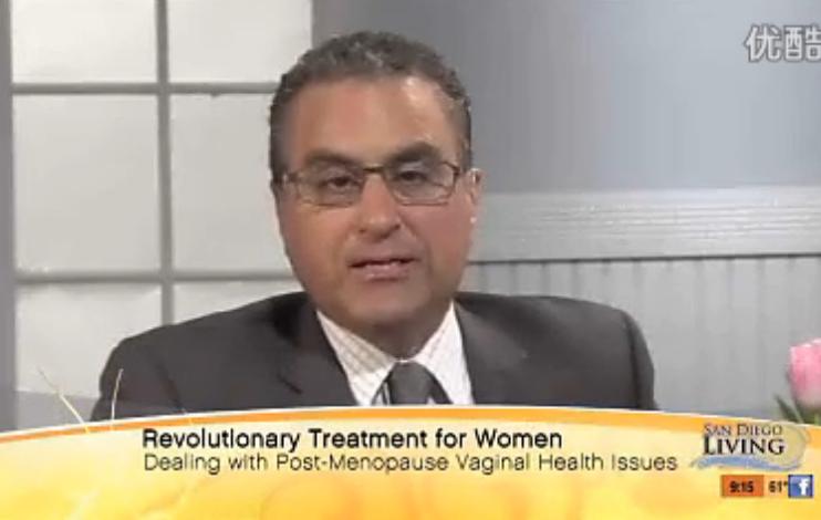 Karram医生在-San-Diego直播节目上谈论蒙娜丽莎之吻疗法