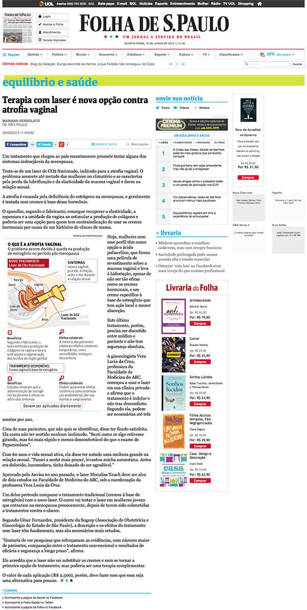 Terapia-com-laser-é-nova-opção-contra-atrofia-vaginal-06_05_2013-Equilíbrio-e-Saúde-Folha-de-S.Paulo-2015-06-10-16-52-42