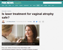 Is laser treatment for vaginal atrophy safe?