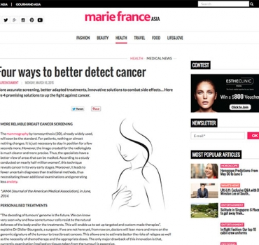 Four ways to better detect cancer