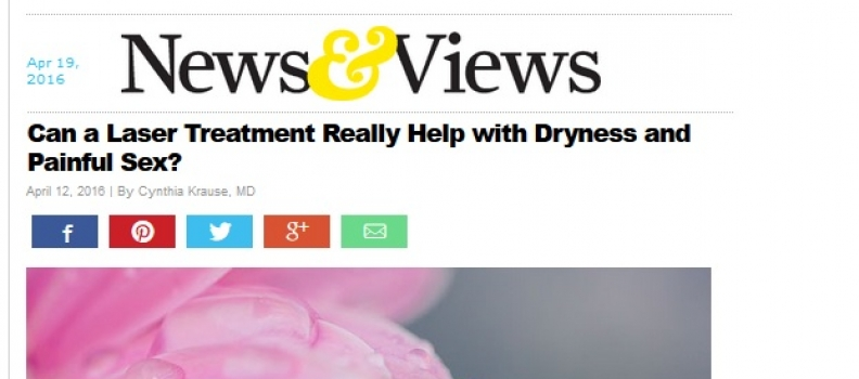 Can a Laser Treatment Really Help with Dryness and Painful Sex?