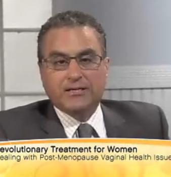 采访Karram医生在 San Diego直播节目上谈论蒙娜丽莎之吻疗法