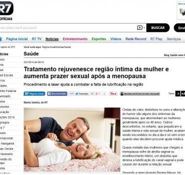 Tratamento rejuvenesce região íntima da mulher e aumenta prazer sexual após a menopausa