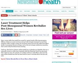 Laser Treatment Helps Post-Menopausal Women Revitalize Sex Lives
