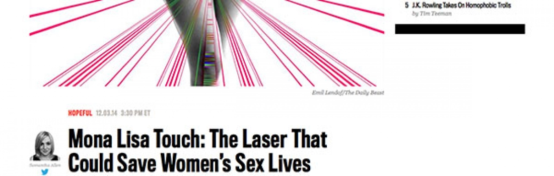 MonaLisa Touch: The Laser That Could Save Women's Sex Lives