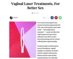 Vaginal Laser Treatments, For Better Sex
