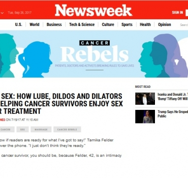 Newsweek: what are helping cancer survivors enjoy sex